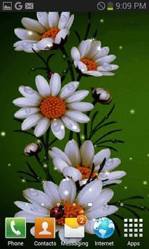 White Flowers Beauty LWP screenshot 2