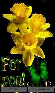 Yellow Magic Flowers LWP poster