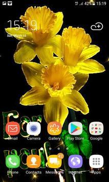 Yellow Magic Flowers LWP screenshot 1