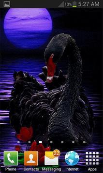 Black Swan Live Wallpaper screenshot 2