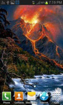 Hilly Volcano Live Wallpaper screenshot 1