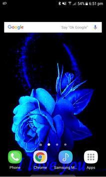 Lovely Blue Rose LWP screenshot 1