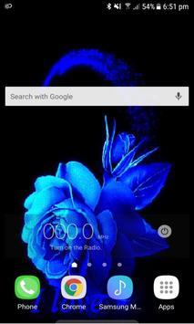 Lovely Blue Rose LWP screenshot 2