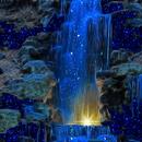 Magic Blue Fall LWP APK