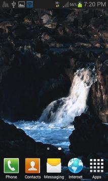 Nature Hilly Water LWP screenshot 1