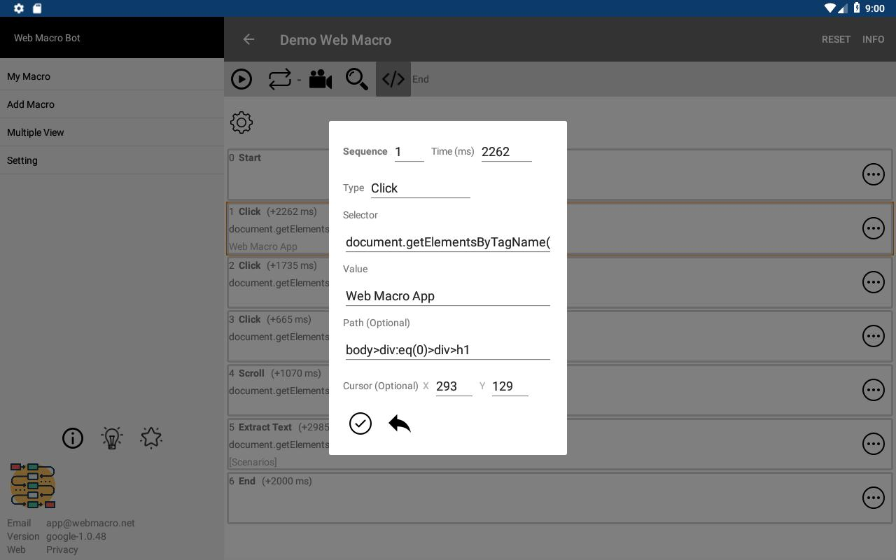Web Macro Bot for Android - APK Download