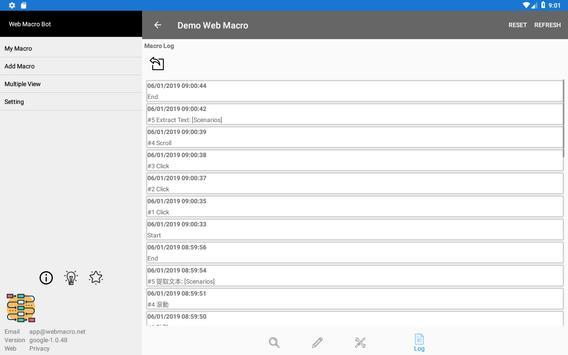 Web Macro Bot ảnh chụp màn hình 14