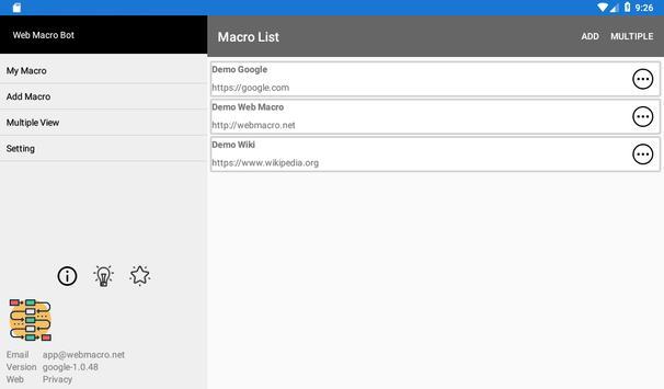 Web Macro Bot ảnh chụp màn hình 16