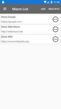 Web Macro Bot ảnh chụp màn hình 1