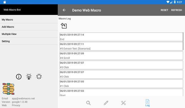 Web Macro Bot ảnh chụp màn hình 22