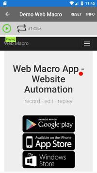 Web Macro Bot ảnh chụp màn hình 3