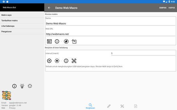 Bot Makro Web   Alat otomatisasi situs web screenshot 9