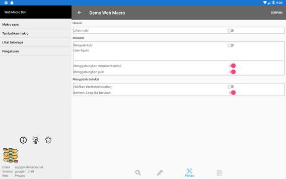 Bot Makro Web   Alat otomatisasi situs web screenshot 13
