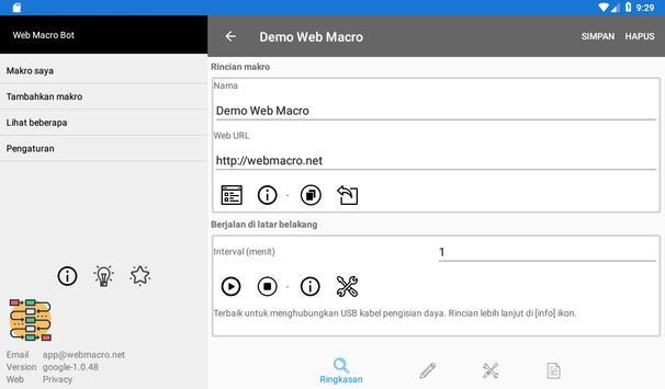 Bot Makro Web   Alat otomatisasi situs web screenshot 17