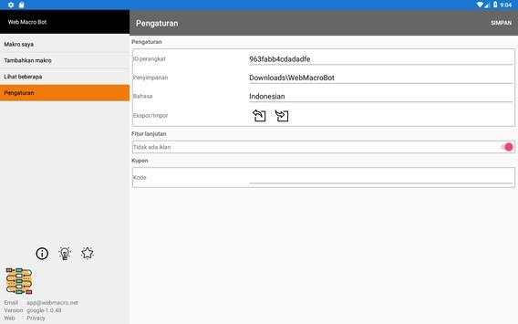 Bot Makro Web   Alat otomatisasi situs web screenshot 15