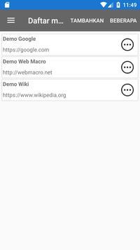 Bot Makro Web   Alat otomatisasi situs web screenshot 1
