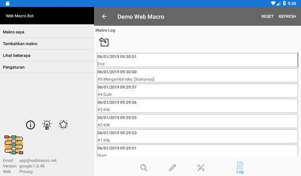 Bot Makro Web   Alat otomatisasi situs web screenshot 22