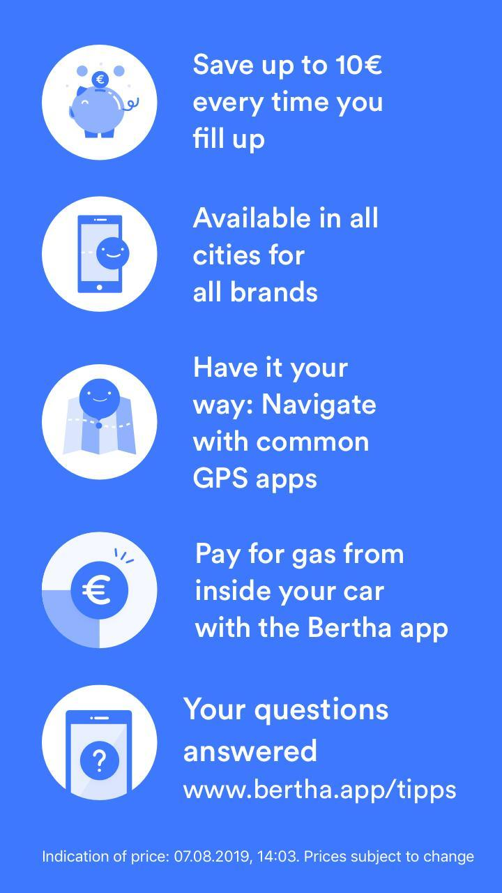 Find Nearest Gas Station >> Bertha Find Nearest Gas Station Compare Prices Pour