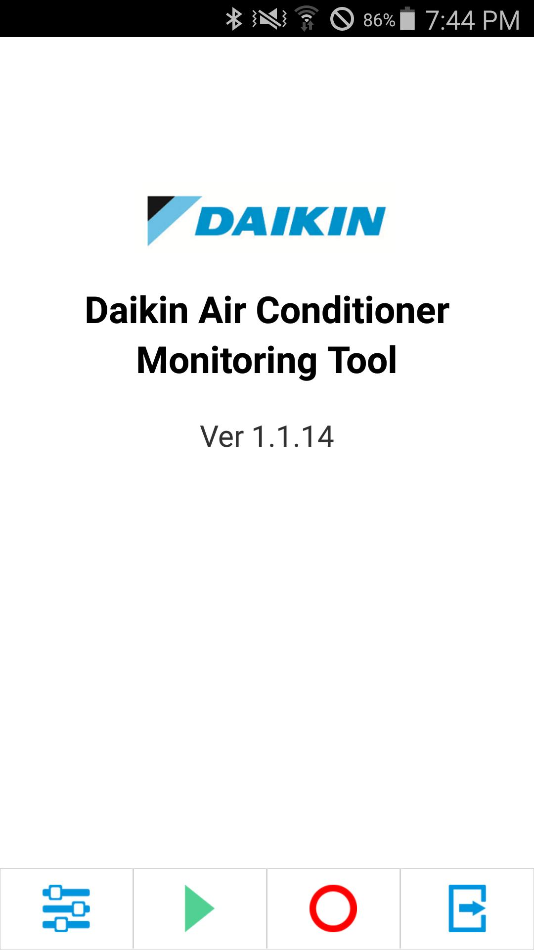 Daikin AC Monitoring Tool(GLB) for Android - APK Download