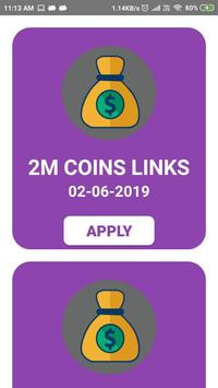 Free Spin and Coins Rewards for Pig Master - Link screenshot 1