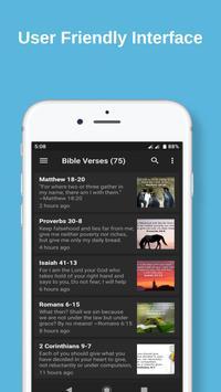 Daily Bible Verse App 截圖 1