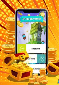 Take Coins and Spins Daily Link 2019 screenshot 1