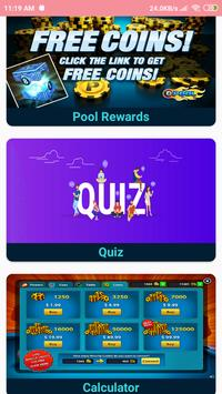 Daily Free 8 Ball Pool Rewards:Get Free Coins 2020 poster