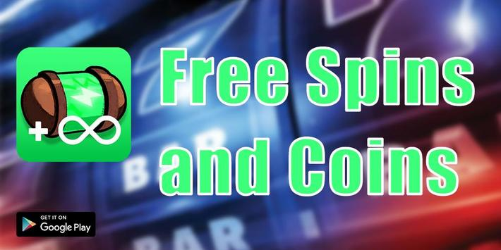 Daily Free Spins & Coins - New tips 2019 poster