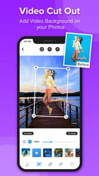 Pick Video - Add Video Background on Your Photos poster