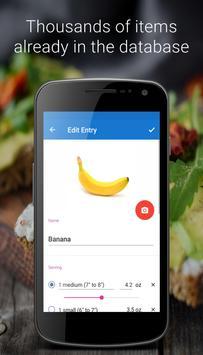 iEatBetter: Food Diary screenshot 1