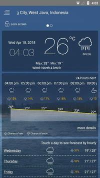 मौसम पूर्वानुमान स्क्रीनशॉट 10