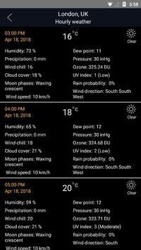 मौसम पूर्वानुमान स्क्रीनशॉट 1