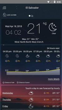 मौसम पूर्वानुमान स्क्रीनशॉट 8