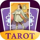Daily Tarot Plus 2019 - Free Tarot Card Reading ícone