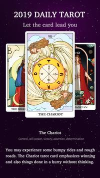 Daily Tarot Plus 2019 - Free Tarot Card Reading Cartaz
