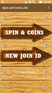Free Spins and Coins Link - Spin and Coins Link screenshot 1