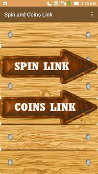 Free Spins and Coins Link - Spin and Coins Link screenshot 2