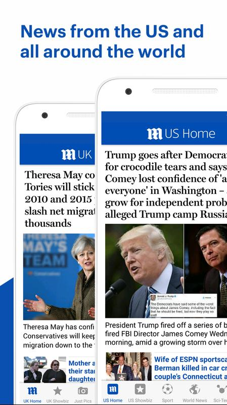 daily mail online for android - apk download