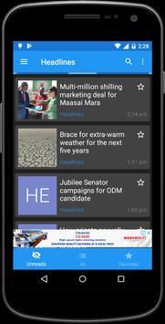 Daily Nation screenshot 1