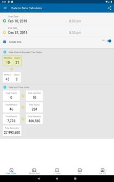 Date Calculator screenshot 10