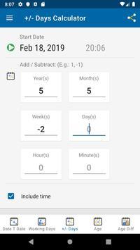 Date Calculator screenshot 4