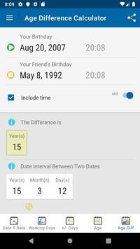 Date Calculator screenshot 7