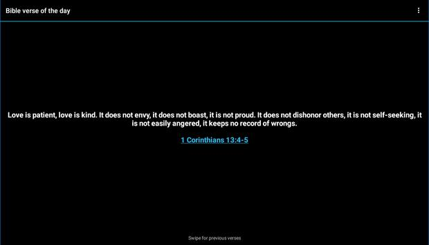 Bible verse of the day screenshot 3