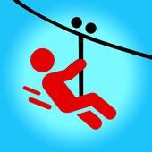 Zipline-icoon