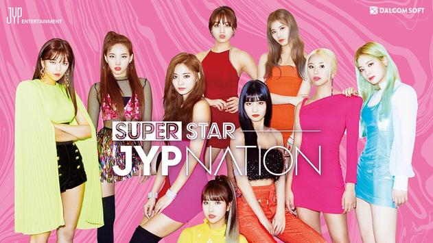 SuperStar JYPNATION Plakat