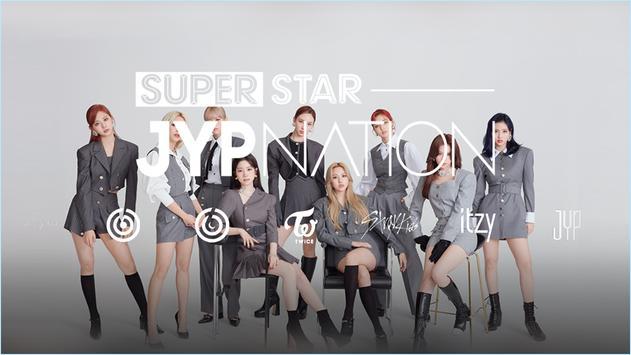SuperStar JYPNATION ポスター
