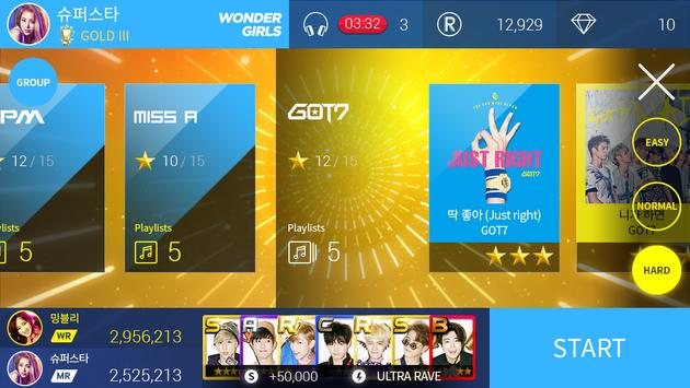 SuperStar JYPNATION скриншот 17