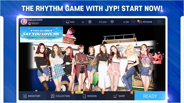 SuperStar JYPNATION スクリーンショット 1