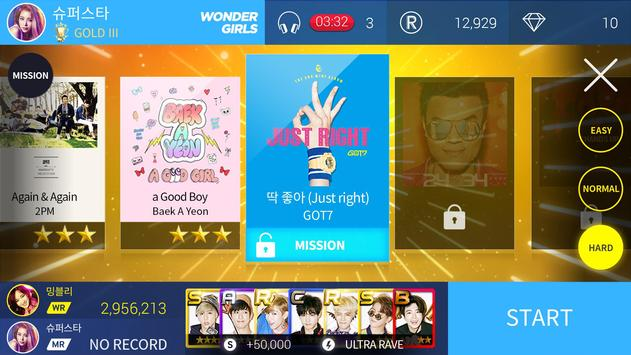 SuperStar JYPNATION скриншот 2