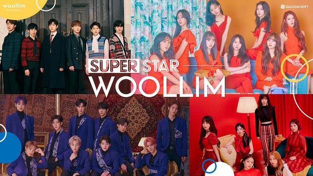 SuperStar WOOLLIM poster